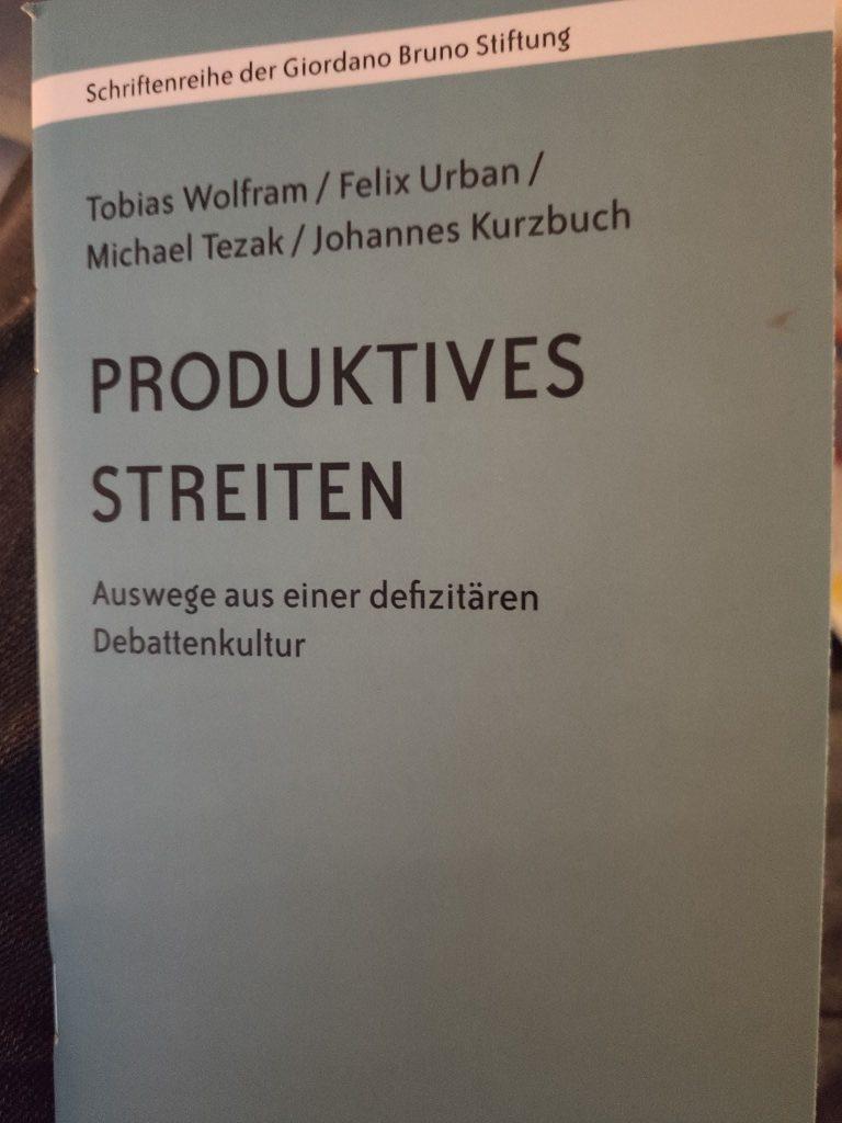 Buchtipp: Produktives Streiten