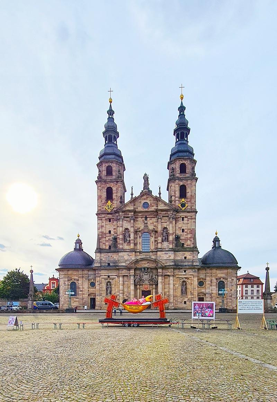 Hängemattenbischof in Fulda